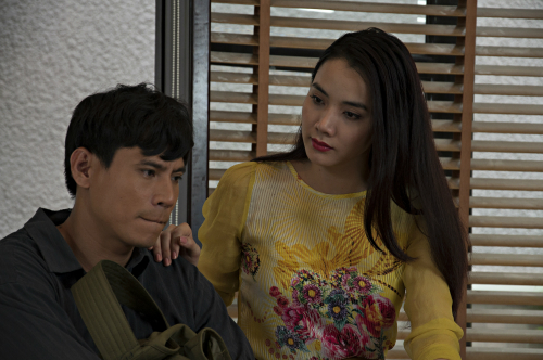 Trang Nhung đóng phim khi đang mang bầu