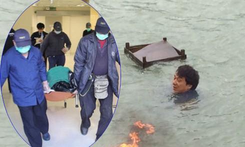 Thành viên đoàn phim của Thành Long chết đuối vì lật thuyền