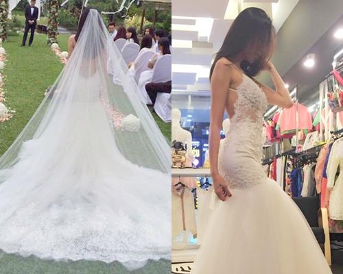 Các mẫu váy cưới trong hôn lễ của Thủy Tiên