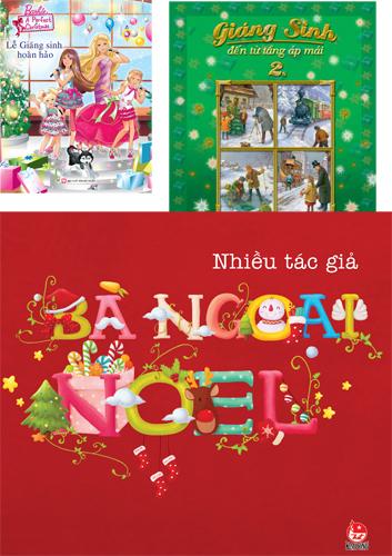 Những cuốn sách thiếu nhi mới cho mùa Giáng sinh