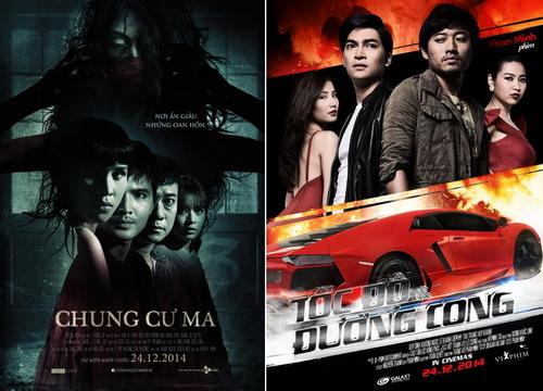 Hai phim Việt đối đầu nhau mùa Giáng sinh và cuối năm