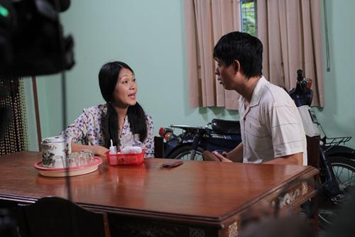 Đinh Y Nhung vào vai người vợ hư hỏng trong phim 'Đổi đời'