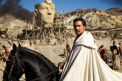 'Exodus: Gods and Kings' bị cấm chiếu ở Ai Cập