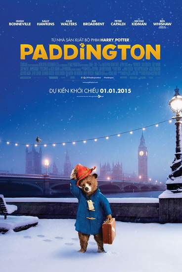 """""""Paddington"""" - bộ phim mở màn cho năm 2015."""