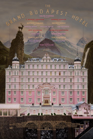 """Poster phim """"The Grand Budapest Hotel""""."""