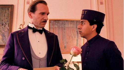 """""""The Grand Budapest Hotel"""" là một trong những bộ phim được đánh giá cao nhất năm 2014."""