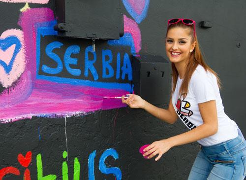 Đại diện Serbia.