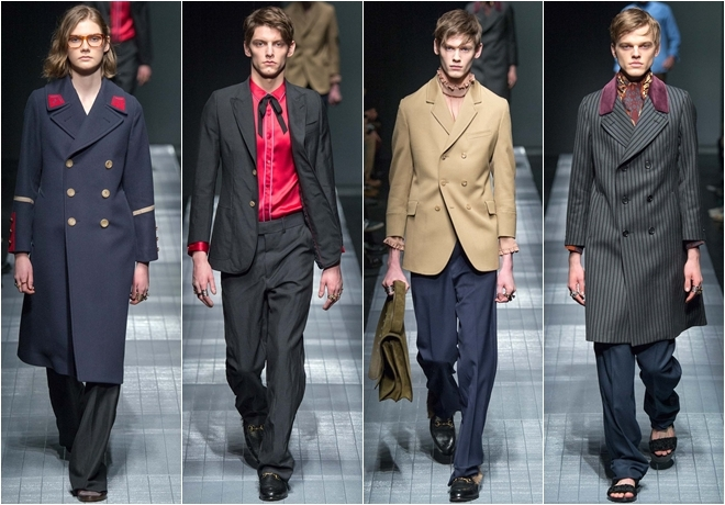 Gucci thiết kế đồ nam theo phong cách lưỡng tính
