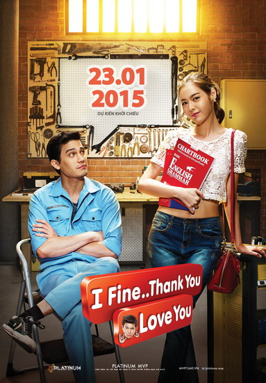 """Poster phim """"I Fine Thank You Love You""""."""