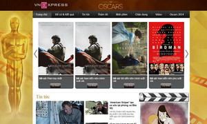 VnExpress ra mắt chuyên mục về Oscar 2015