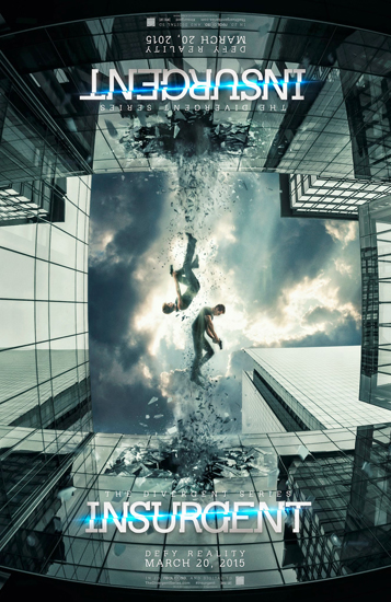 "Poster chính thức của phim ""The Divergent Series: Insurgent""."