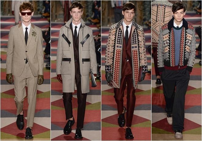 Trang phục họa tiết sáng tạo cho nam của Valentino