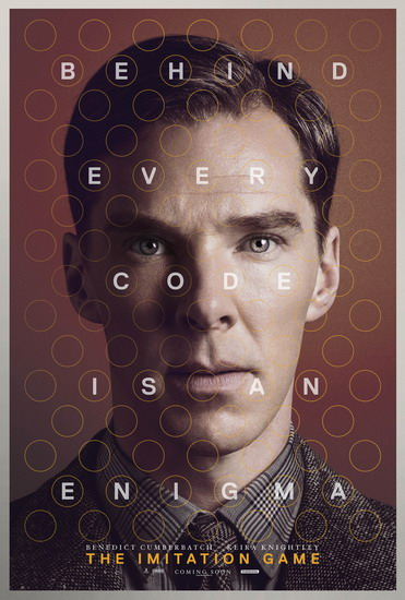 "Poster phim ""The Imitation Game""."