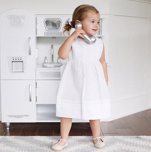 Bộ váy trắng