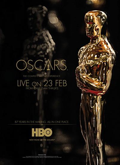Khán giả quan tâm tới điện ảnh có thể theo dõi trực tiếp đêm trao giải Oscar lần thứ 87 trên kênh HBO vào sáng 23/2 (giờ Hà Nội).