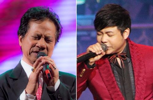 Hai danh ca hải ngoại Chế Linh, Quang Lê lần đầu song ca trên sân khấu ca nhạc ở quê hương.