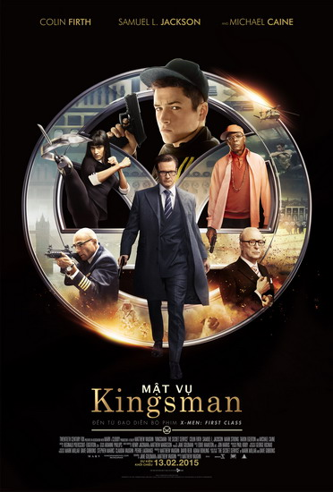 "Poster phim ""Kingsman: The Secret Service""."