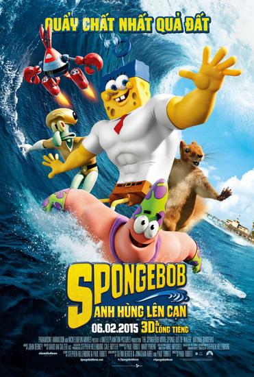 SpongeBob - cuộc phiêu lưu vui nhộn của siêu nhân bọt biển