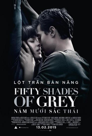 '50 Sắc thái' cấm khán giả dưới 16 tuổi khi chiếu ở Việt Nam