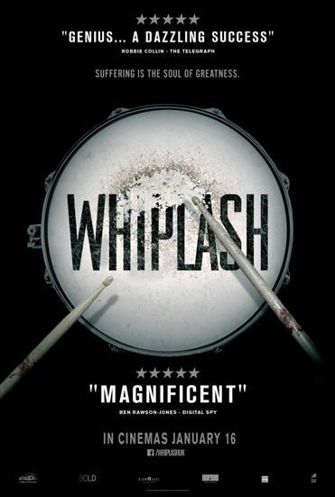 """Poster phim """"Whiplash""""."""