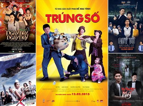 5 phim Việt ra rạp trong dịp Tết nguyên đán Ất Mùi.
