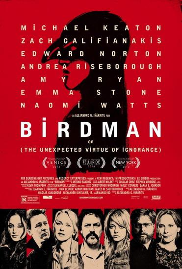 "Poster phim ""Birdman""."