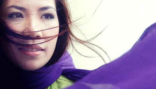 Ca sĩ Hồng Vy.
