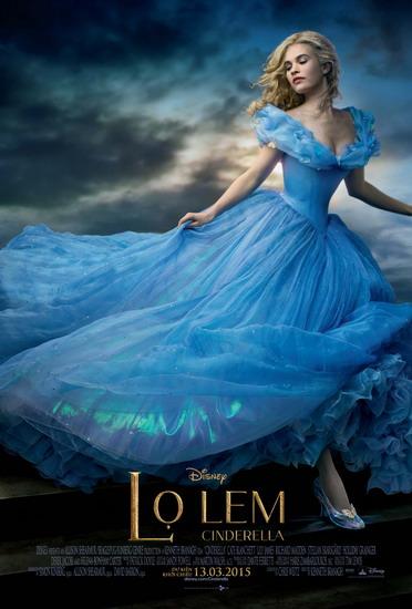 "Poster phim ""Cinderella""."