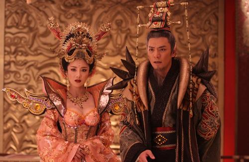 Phim về Đát Kỷ - Trụ Vương gây bàn tán vì tạo hình khêu gợi