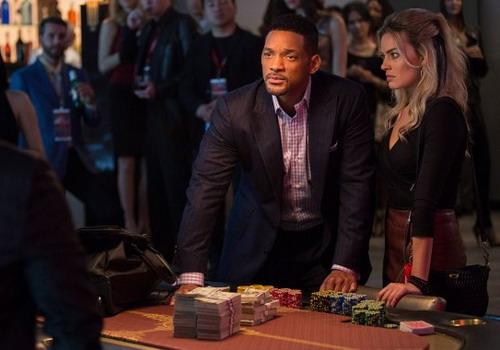 """Will Smith và Margot Robbie đóng cặp trong phim hài lãng mạn """"Focus""""."""