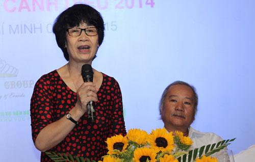 Phó Chủ tịch Hội Điện Ảnh Việt Nam - Bà Lê Thị Hồng Ngát