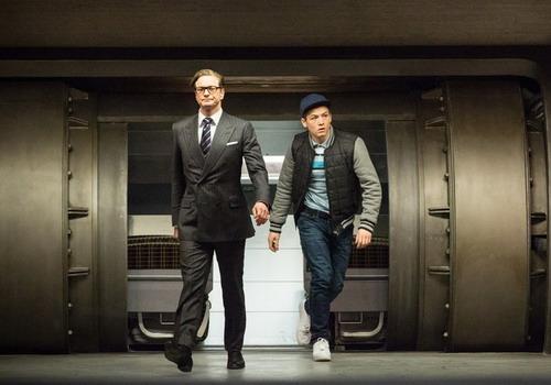 "Một cảnh trong phim ""Kingsman: The Secret Service""."
