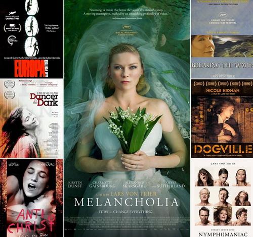 Những bộ phim tiêu biểu cho phong cách điện ảnh cực đoan của Lars von Trier.