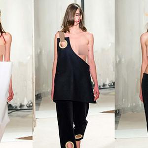 Jacquemus gây sốc khi để loạt người mẫu ngực trần catwalk