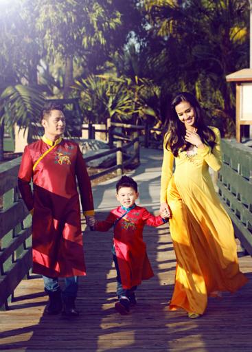 Bằng Kiều hạnh phúc vì Dương Mỹ Linh được cả mẹ và các con yêu mến.