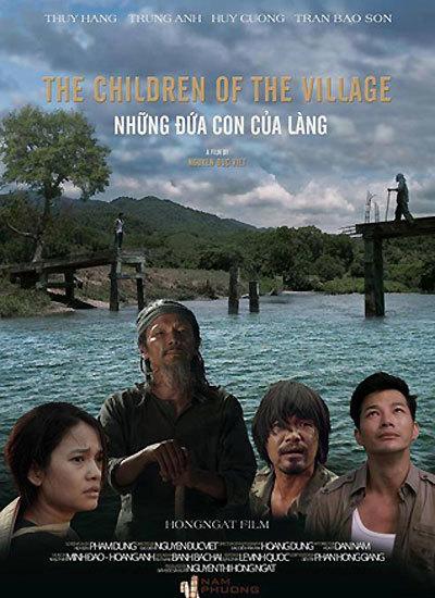 """Poster phim """"Những đứa con của làng""""."""