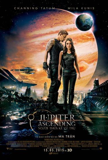"""Poster phim """"Jupiter Ascending""""."""