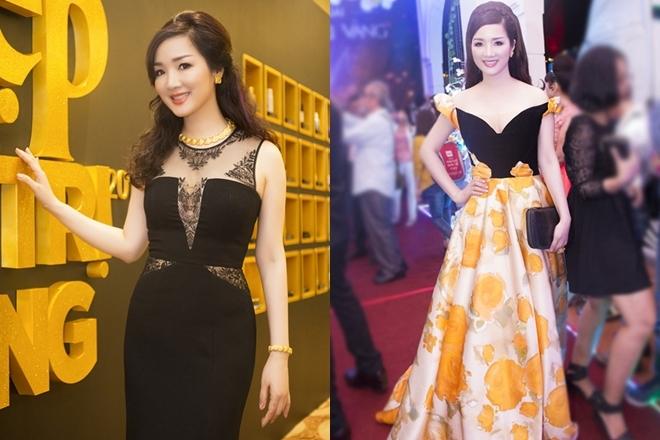 Hồng Quế, Giáng My mặc đẹp nhất tuần với váy xẻ ngực