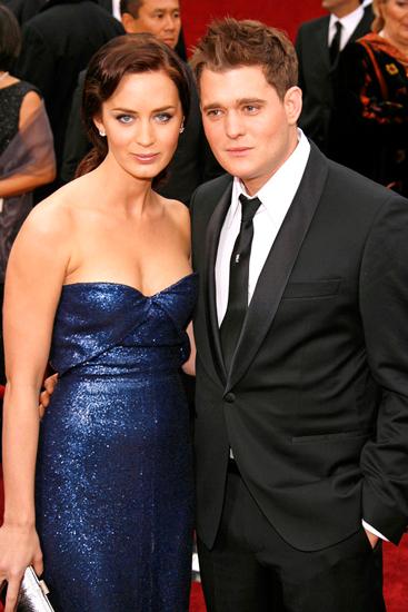 Michael Buble và tình cũ Emily Bunt năm 2007. Ảnh: Wire.