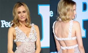 Diane Kruger đẹp nhất tuần với váy khoét gợi cảm