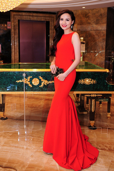 Diễm Hương, Ngô Thanh Vân mặc đẹp nhất tuần với sắc đỏ