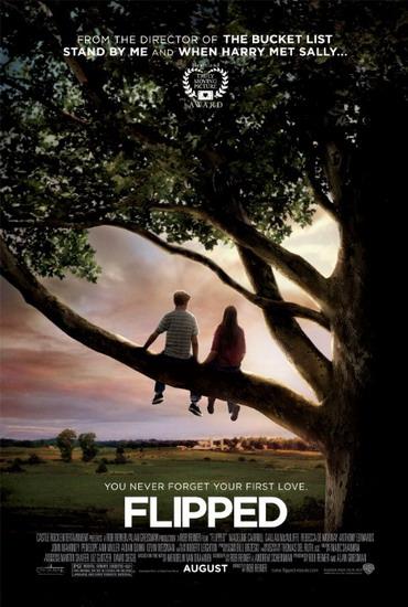 """Poster phim """"Flipped""""."""