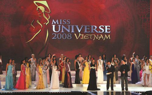 cuộc thi Hoa hậu Hoàn vũ thế giới tại Diamond Bay city năm 2008