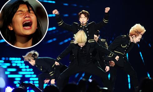 EXO, ShINee khiến fan Việt kêu khóc, đeo đuổi sau đêm nhạc