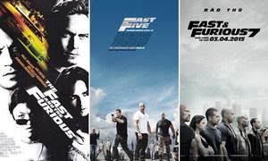 Hành trình 14 năm của loạt phim 'Fast & Furious'