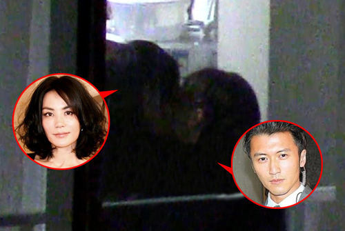 Những nụ hôn gây bàn tán của sao gốc Hoa