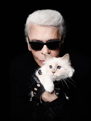 Choupette hiện là một phần không thể thiếu trong cuộc sống và công việc của Karl Lagerfeld . Ảnh: Blogspot.