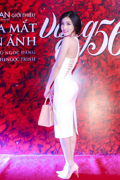 Hoa hậu Triệu Thị Hà.