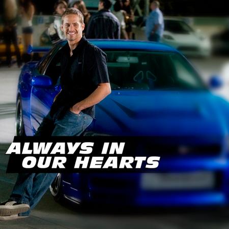 Hình ảnh Paul Walker với nụ cười lãng tử bên những chiếc siêu xe mãi đọng lại trong tâm trí người hâm mộ.