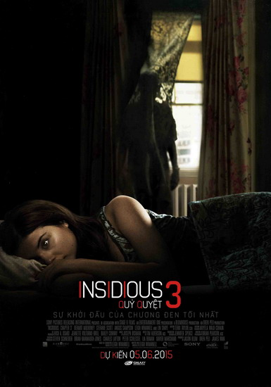 """Poster phim """"Insidious: Chapter 3""""."""
